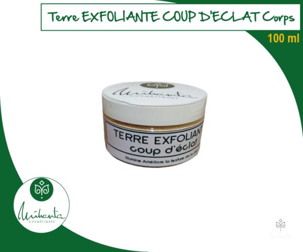TERRE EXFOLIANTE COUP D'ECLAT CORPS 100 ML
