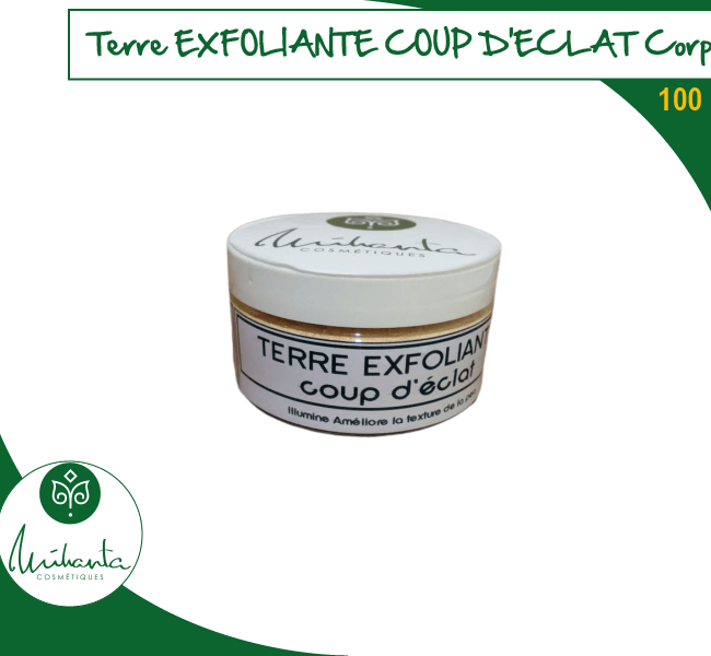TERRE EXFOLIANTE COUP D'ECLAT CORPS 100 ML
