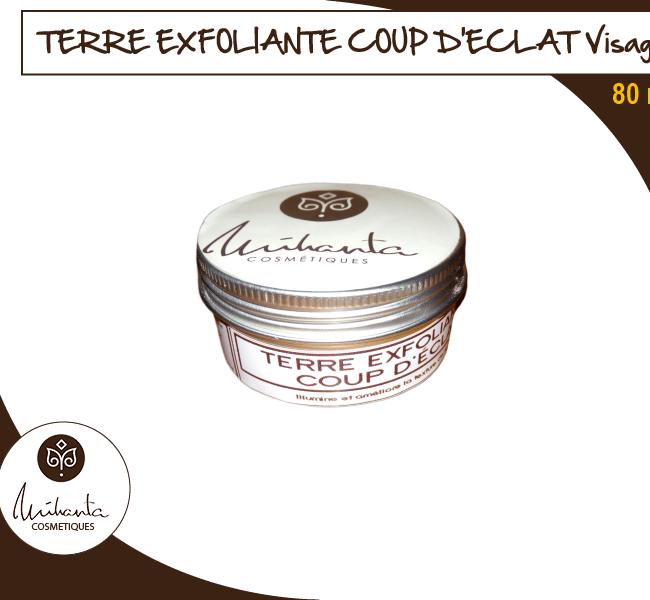 TERRE EXFOLIANTE COUP D'ECLAT Visage - 80ml