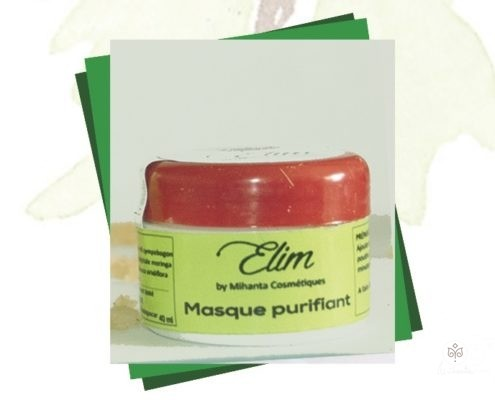 Masque purifiantiant Elim by Mihanta Cosmetiques