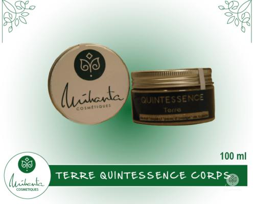 TERRE QUINTESSENCE CORPS 100 ML | Mihanta Cosmetiques
